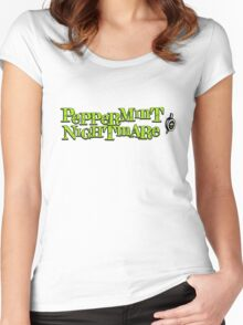 "The Mighty Boosh - ""Peppermint Nightmare"" Women's Fitted Scoop T-Shirt"
