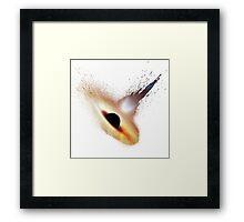 Splash Black Hole Framed Print