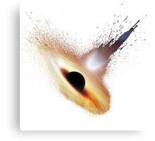 Splash Black Hole Canvas Print