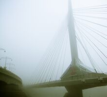 Foggy Waterfront 03 by mdkgraphics