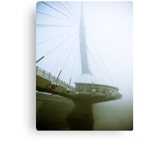 Foggy Waterfront 04 Canvas Print