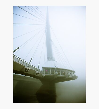 Foggy Waterfront 04 Photographic Print