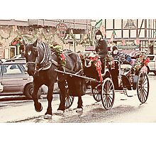 Horse-drawn Ride Photographic Print