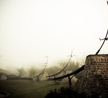 Foggy Waterfront 06 by mdkgraphics