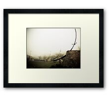 Foggy Waterfront 06 Framed Print