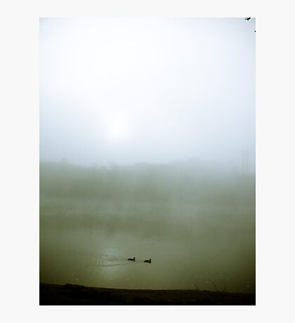 Foggy Waterfront 07 Photographic Print