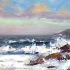 Tide coming in by Patricia Seitz