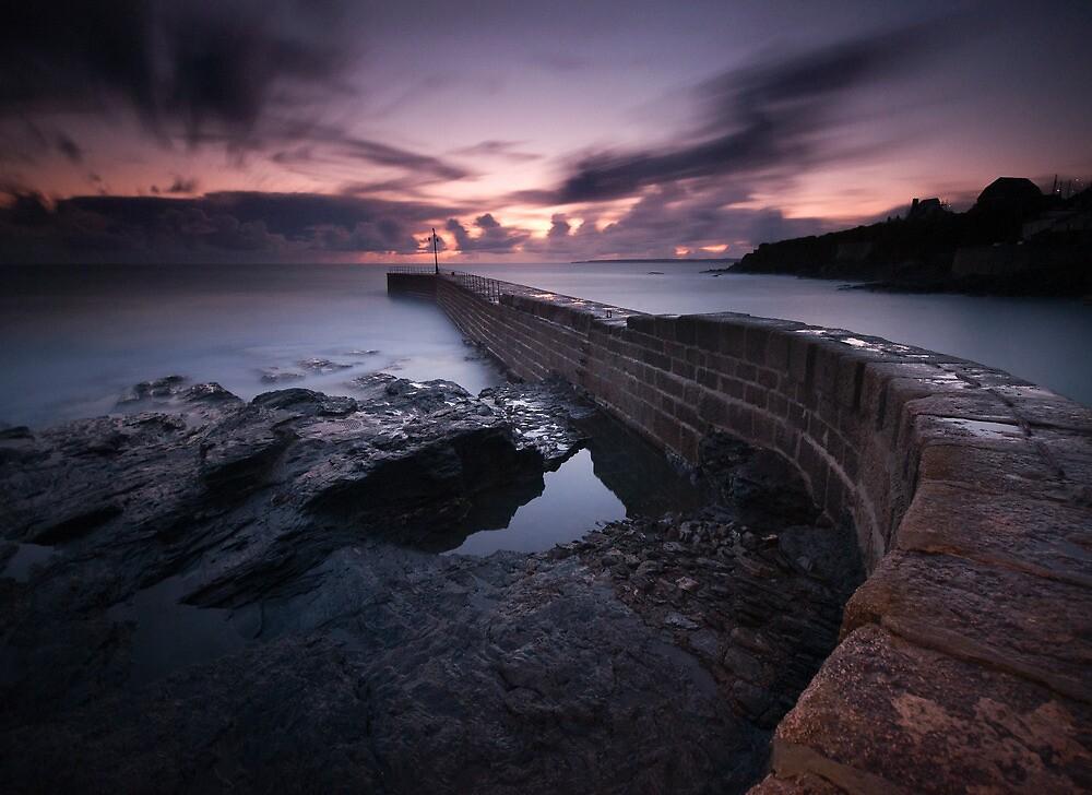 Porthleven Pier by Sarin