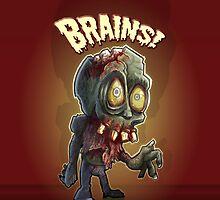 Retro Zombie by TheZombieLab