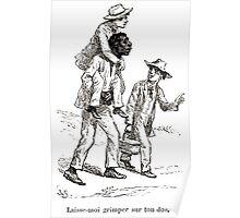 Achille Sirouy Mark Twain Les Aventures de Huck Huckleberry Finn illustration p269 Poster
