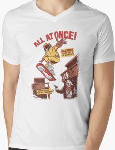 Tales Told All at Once! Mens V-Neck T-Shirt