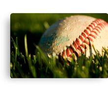 Baseball Season Canvas Print