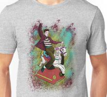 Elvis crazy ride Street Art Unisex T-Shirt