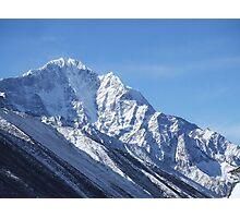 white mountain Photographic Print