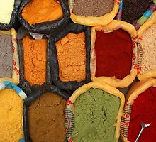 Spices at the Market by rhamm