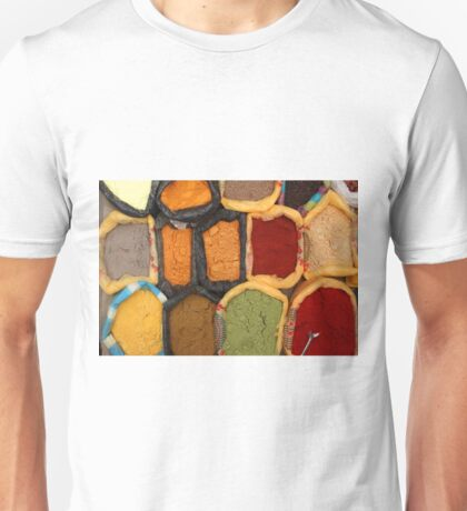 Spices at the Market Unisex T-Shirt
