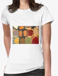 Spices at the Market Womens Fitted T-Shirt