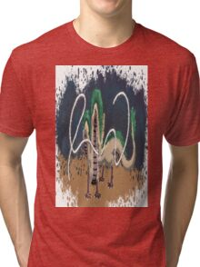 Beautiful River Spirit   Tri-blend T-Shirt
