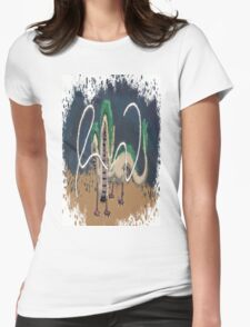 Beautiful River Spirit   Womens Fitted T-Shirt