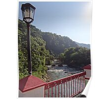 Bridge over the River Cuale nearby Paso Ancho Poster