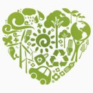Eco heart by KRDesign