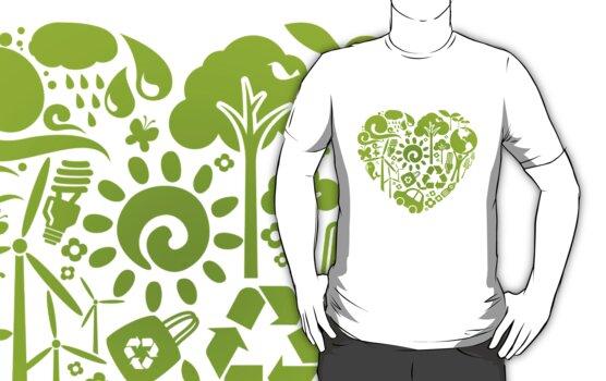 Eco heart by KRDesign