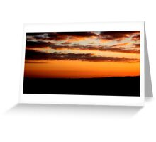 Dusk Sky Greeting Card
