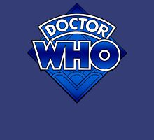 Doctor Who - Diamond Logo Blue gradient. Unisex T-Shirt