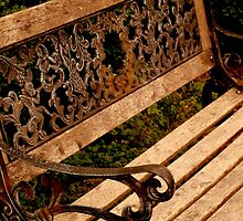 Old-Fashioned Bench  ^ by ctheworld