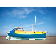 Colour boat Photographic Print
