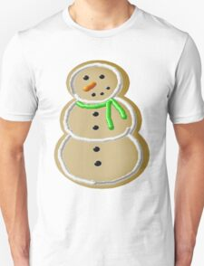 Snowman Iced Sugar Cookie  Unisex T-Shirt