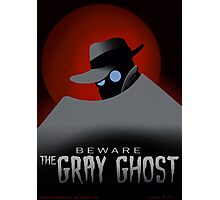Beware the Gray Ghost! Photographic Print