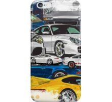 Porsche 911 History-Art iPhone Case/Skin