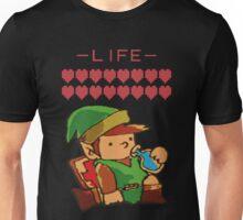 Legend of Zelda - Link's Blue Potion Unisex T-Shirt