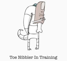Toe Nibbler In Training by Marjorie Merle