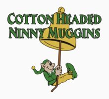 Cotton Headed Ninny Muggins Elf Bell by waywardtees