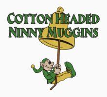 Cotton Headed Ninny Muggins Elf Bell by waywardtees