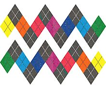 Unofficial Gay Argyle Pattern Photographic Print