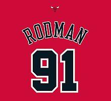 Dennis Rodman by ilRe