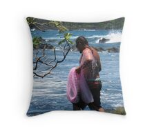 Uncle Bradley:  Hawaiian Thrownet Fisherman Throw Pillow