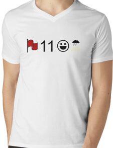 Crimson, Eleven, Delight, Petrichor Mens V-Neck T-Shirt
