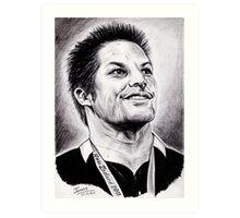 Richie McCaw - All Blacks Captain 2011 Art Print