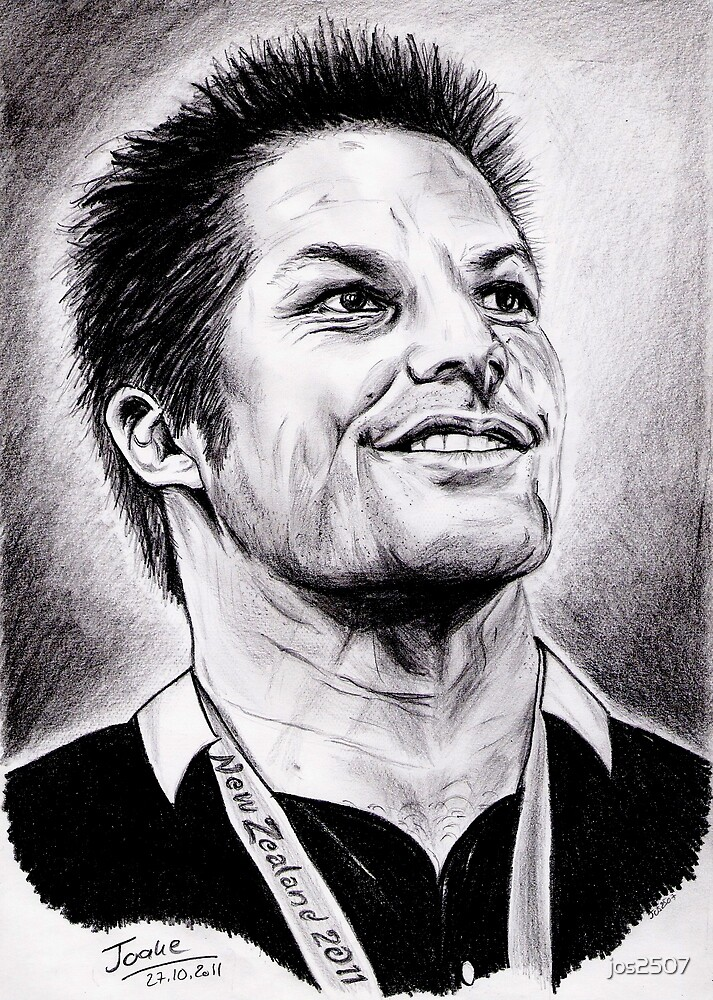 Richie McCaw - All Blacks Captain 2011 by jos2507