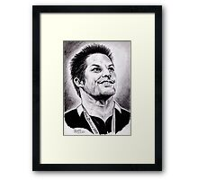 Richie McCaw - All Blacks Captain 2011 Framed Print