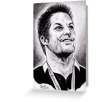 Richie McCaw - All Blacks Captain 2011 Greeting Card
