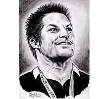 Richie McCaw - All Blacks Captain 2011 Photographic Print