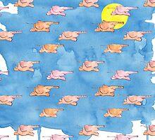 Flying Elephants by Mariana Musa