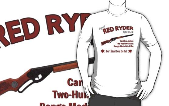 Red Ryder BB Gun by waywardtees