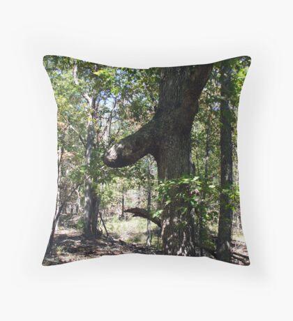 Hard Wood Surprise Throw Pillow