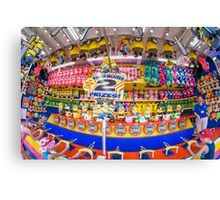 State Fair Midway game Canvas Print